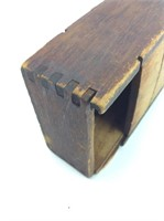 Dovetailed Wooden Glasses Box