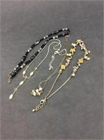 Lot of Four Vintage Necklaces