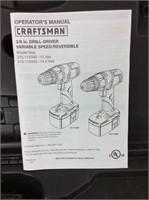 14.4 Craftsman Drill