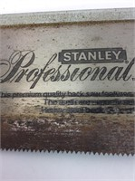 Stanley Professional Back Saw 12 inch blade