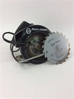 1 1/2 HP Black and Decker Circular Saw