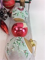 Box Full of Holiday Ornaments/ Decorations