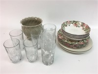 Mixed Glass and Ceramic Lot