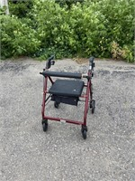 Drive Folding Walker with Seat