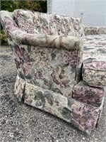Floral Pattern Couch