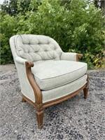Vintage Upholstered Armchair