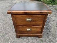 Lea Wooden Side Table.