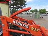 Kubota M59 Backhoe