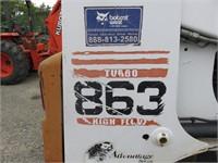 Bobcat 863 Highflow Skidsteer