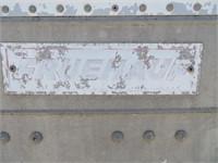 (DMV) 25' Fruehauf Box Trailer