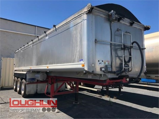 2012 Stoodley Tipper Trailer Loughlin Bros Transport Equipment - Trailers for Sale