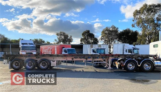 1992 Freighter 44FT Flat Top Semi Trailer Complete Trucks Pty Ltd  - Trailers for Sale