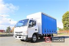 2011 Fuso Canter 515 Tautliner / Curtainsider