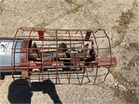 "Peck 61'x8"" diameter side PTO auger"