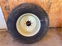 Brent spare wagon wheel