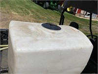 100-gallon poly tank