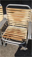 Collection of Vintage Lawn Chairs