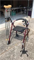 Mobility Assistance Devices Walker with Seat,