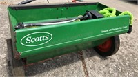 Vintage Scott's Drop Spreader with Metal Body 24""