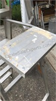 6ft Aluminum Step Ladder & 2ft Wooden Ladder