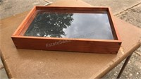 Handmade Wooden Display Shelf with 7 removable