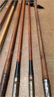 Antique Wood Shaft Golf Clubs