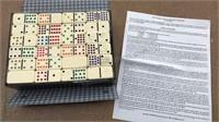 Double Fifteen Dominos Set of 136pcs
