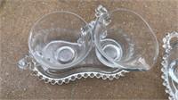 Vintage Hobnail Glass Items