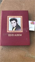 Elvis Presley Scrapbook and 1st Day Cancelled