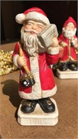 """Vintage Santa Figures 5"""" Tall and 30ft of Beaded"""