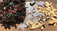Collection of Vintage Bird Christmas Ornaments