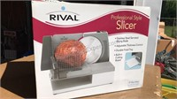 Rival Professional Style Slicer Appears unused in