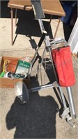Hi-Tech Folding Golf Bag Trolley and other
