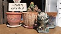 """Garden Collection Pots 6"""" Tall"""