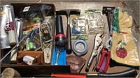 Large Collection of Hardware and Hand Tools