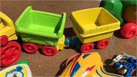 Elmo Sesame Street Train Toy and other Plastic