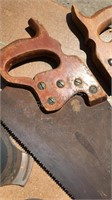 Vintage Hand Saws Grinding Wheels and more