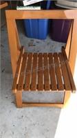 Danish Design Stowaway Table and 4 Chair Set