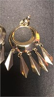 Vintage Jewelry Pins and Earrings, one pin is