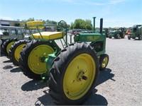 1937 John Deere Model A Wheel Tractor