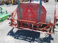 300 Gallon Pull Tank Sprayer with Boom & Hydraulic