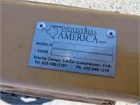 10' Industrias America Hydraulic Ring Roller
