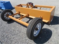 7' Industrias America Hydraulic Box Scraper