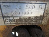 Case 580B Backhoe