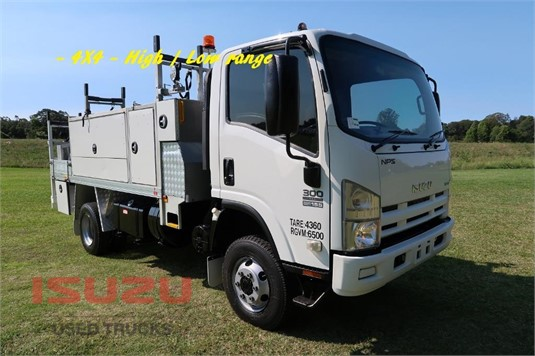 2009 Isuzu NPS 300 4x4 Used Isuzu Trucks - Trucks for Sale