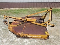 Woods Cadet 72 Rotary Mower, 6', 3 Pt. Solid Rear