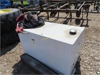 110 gal fuel transfer tank w/electric pump
