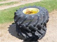 Good Year 30.5L-32 rice tires fits 9600, rims