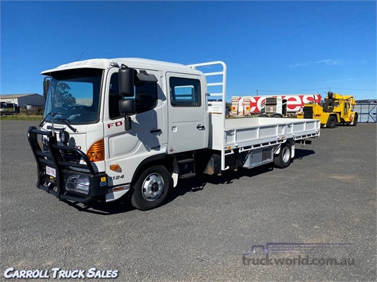 2015 Hino 500 Series 1124 FD Carroll Truck Sales Queensland - Trucks for Sale