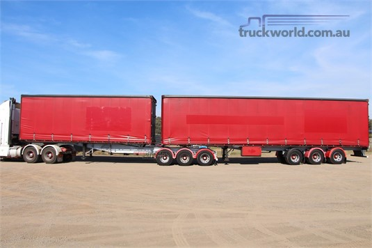 2000 Barker Curtainsider Trailer - Trailers for Sale